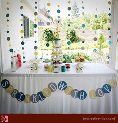 Sprinkle Baby Shower at Kara's Party Ideas