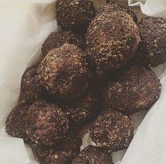 cocoa licorice energy balls