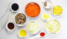 Filipino Empanada - Simply Bakings Chicken Empanada Recipe, Empanadas Recipe, Filipino Empanada, Vegetarian Side Dishes, Hearty Meal, Carrot, Vinegar, Chili, Garlic