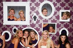 LovelyGirls Weddings + Events: DIY: Photo Booth Wall