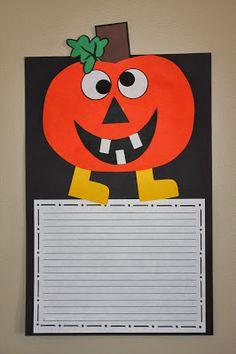 The Razzle Dazzle Classroom: Pumpkin FUN!