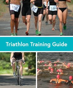 If you're a first time triathlete, check out this training guide that breaks down the basics of swimming, biking and running. #triathlon #training #howto