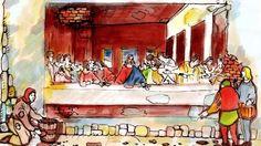 Biography of Da Vinci Classroom Art Projects, Art Classroom, Renaissance And Reformation, Art Studies, Social Studies, Renaissance Artists, Learning Italian, Italian Artist, W 6