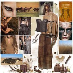 """Dothraki"" by cyanideteaparty ❤ liked on Polyvore"