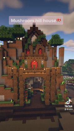 Minecraft Farm, Minecraft Cottage, Cute Minecraft Houses, Minecraft Plans, Minecraft Survival, Minecraft Construction, Amazing Minecraft, Minecraft Blueprints, Minecraft Crafts