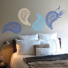Paisley Wall Decal