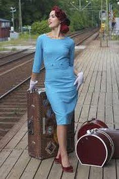 Elisa Heaven Dress, Blå