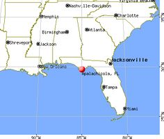 Apalachicola, Florida. Yep, I am 8th generation Floridian.  :)