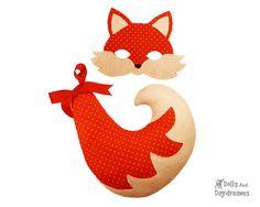 Fox Mask Tail PDF Costume Pattern Set  par DollsAndDaydreams, $8.00