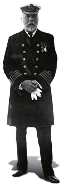 handout picture received from Southampton City Council on April 4, 2012 shows Titanic Captain Edward Smith. A century on since the grandest liner ever built sank to the bottom of the ocean on its maiden voyage, the legend of the Titanic still captivates the imagination the world over. Smith went down with the Titanic. AFP PHOTO / SOUTHAMPTON CITY COUNCIL