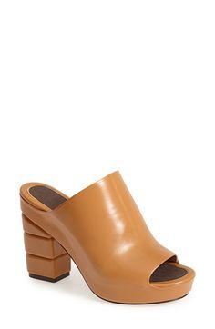 Salvatore Ferragamo 'Maiella' High Leather Mule (Women) available at #Nordstrom