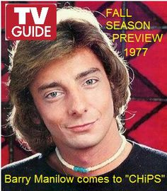 Barry Manilow TV Guide cover 1977
