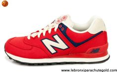 New Balance 574 ML574RUR Red White Black Casual shoes Store