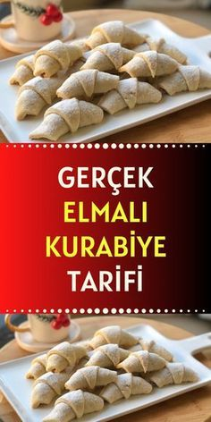 Turkish Recipes, Holiday Cookies, No Bake Desserts, Biscuits, Easy Dinner Recipes, Love Food, Cookie Recipes, Bakery, Food And Drink