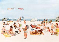 Funny illustrations by JANICE NADEAU