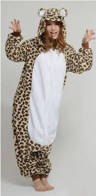 ee4a675478 Kigurumi Pajamas All in One Pyjamas Animal suit Cosplay Costume Adult  Garment Coral Fleece Leopard Bear Cartoon Animal Onesies