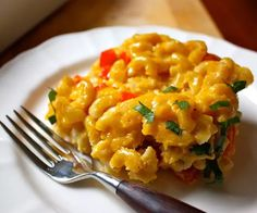 Healthy Butternut Squash Mac-N-Cheese! I must try this! 21 day fix approved!