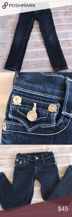 "True Religion Jeans True Religion Jeans  Sz: 5  Like new Approximate Measurements: 24"" long, 19"" inSeam True Religion Bottoms Jeans"