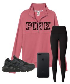 """""""Untitled #129"""" by khaelynn ❤ liked on Polyvore featuring lululemon and NIKE"""