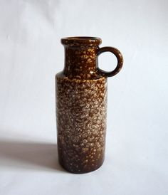 1970s Scheurich West German Pottery Vase