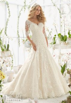 Mori Lee - 2812 - All Dressed Up, Bridal Gown