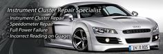 Speedorepair.co.uk offers automotive speedometer & instrument cluster repair and replacement for branded cars in UK. We can repair faulty gages in your dashboard, defective advanced LCD displays, instrument cluster power failure and software issues on all makes and models of motor vehicles.