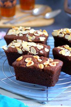 Mini-cakes au chocolat et amandes au Cake Factory