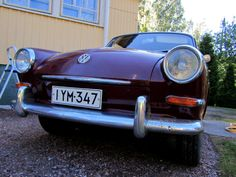 My Notch -63, ready to travel to vintage VW treffen, Hessisch Oldendorf, Germany from Finland. 1347km in total!