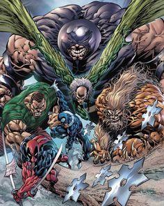 Marvel Villains, Marvel Comics Art, Ms Marvel, Captain Marvel, Comic Books Art, Comic Art, Book Art, Heroes Reborn, Jr Art