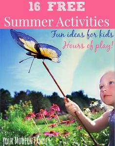 FREE summer ideas to keep your kids busy