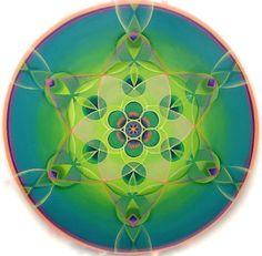 Grow Mandala Painting by Morgan Mandala Manley