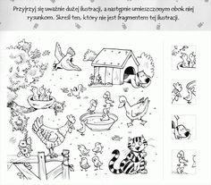 zwierzęta domowe, hodowlane - spostrzegawczość3.gif Farm Animals, Snoopy, Fictional Characters, Speech Language Therapy, Science, Cuba