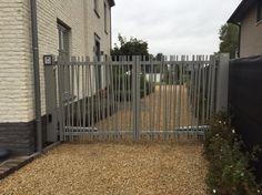 Aluminium garden gate