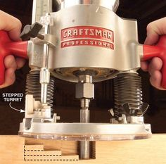 8 Great Reasons to Own a Plunge Router - Woodworking Tools - American Woodworker