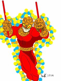 speedball(marvel)/daredevil