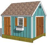 Amazing Shed Plans - shed plan Now You Can Build ANY Shed In A Weekend Even If You've Zero Woodworking Experience! Start building amazing sheds the easier way with a collection of shed plans! Building A Storage Shed, Wood Storage Sheds, Building A Container Home, Storage Shed Plans, Shed Floor Plans, 10x12 Shed Plans, Free Shed Plans, House Plans, Shed Landscaping