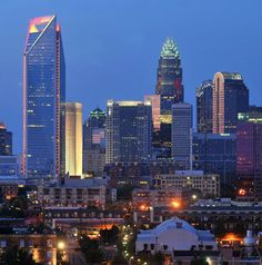Charlotte NC ~ My kind of town!
