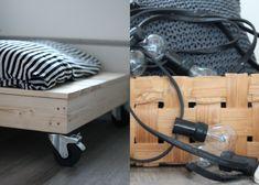 Rapatun Talon Elämää: Viimein - DIY Lastensänky Home Appliances, Bed Frames, Diy, Ideas, House Appliances, Log Bed Frame, Bricolage, Bed Frame, Appliances