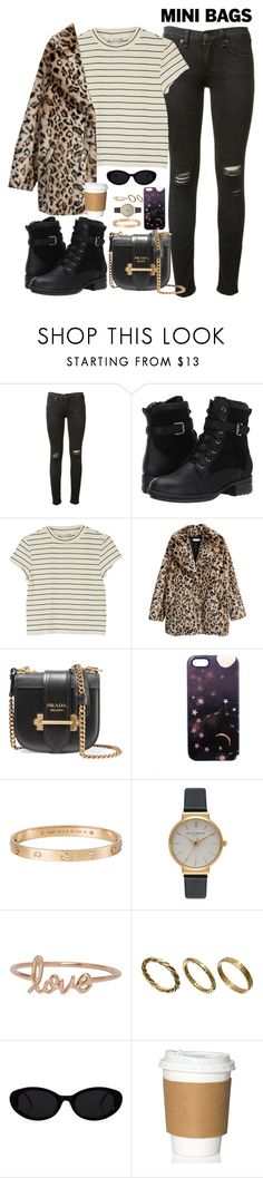 """too much too late -"" by ohsnapitzblanca ❤ liked on Polyvore featuring rag & bone, Blondo, Monki, Prada, Nikki Strange, Cartier, Olivia Burton, Made, StreetStyle and Fall"