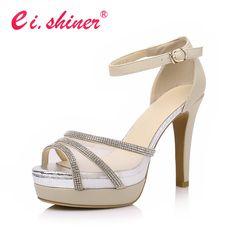Modern peep toe high heels sandals women pumps by LadiesShoes, $58.00