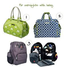 Gear Girl: Pint-Size Travel Gear   Have #baby will #travel bags for new #moms from Momtrends
