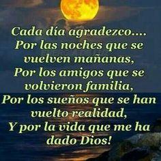 Gracias Dios por tus bendiciones...