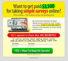 Step by step guide for making money online