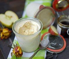 stuttgartcooking: Apfel-Eis-Creme mit Apfel-Sirup