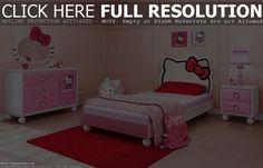 Hello Kitty Bedroom Design Ideas
