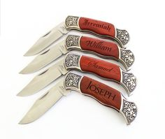 Set of 10 Engraved Groomsmen gift Personalized Groomsman knife Engraved Pocket Knives Personalized Groomsman Gift Wedding Party Gifts Gifts For Wedding Party, Wedding Wishes, Party Gifts, Our Wedding, Dream Wedding, Wedding Ideas, Engraved Pocket Knives, Party Pictures, Bridesmaids And Groomsmen