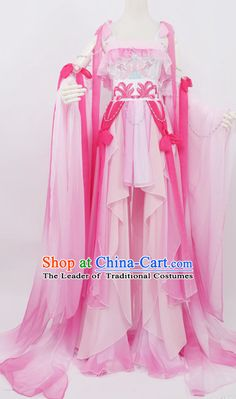 Court Dresses, Royal Dresses, Chinese Traditional Costume, Traditional Dresses, Blossom Costumes, Mode Kimono, Cosplay Dress, Chinese Clothing, Japanese Outfits
