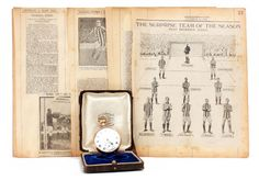 West Bromwich Albion, 1919/20, a 9ct gold open faced fob watch