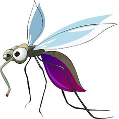 Illustration about Cartoon Character Mosquito Isolated on White Background. Illustration of happy, isolated, design - 20760212 Cartoon Drawings, Animal Drawings, Cartoon Images, Mosquito Drawing, Vector Graphics, Vector Art, Caricature, Drawing Tutorials For Beginners, Cartoon Characters
