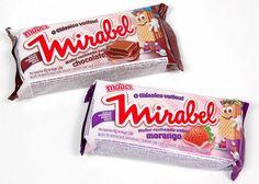 Wafer Mirabel, o biscoito mais consumido em nossos recreios da escola.